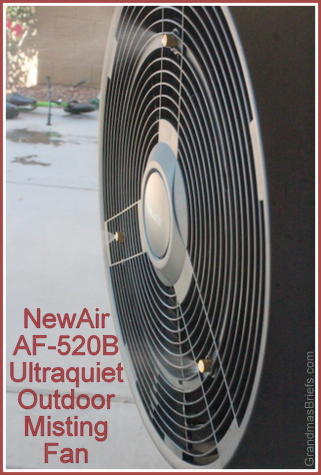 NewAir AF-520B Outdoor Misting Fan
