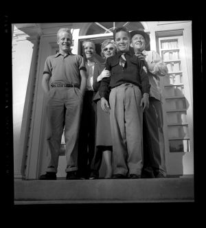 Bing Crosby's first family