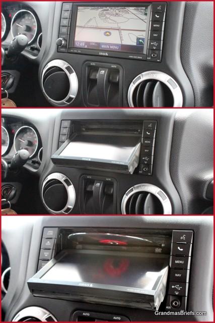 jeep wrangler rubicon nav panel