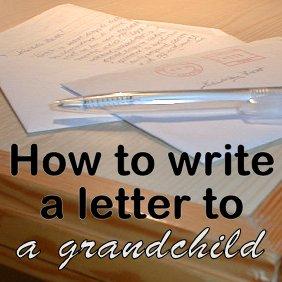 Grandma S Briefs Home How To Write A Keepsake Letter