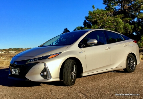 My ride for the 40th Denver Film Festival: 2017 Toyota Prius Prime hybrid