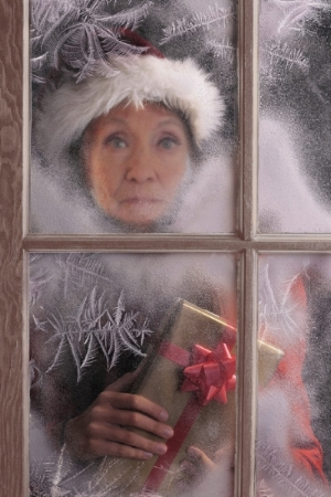 My mom watches for Santa!