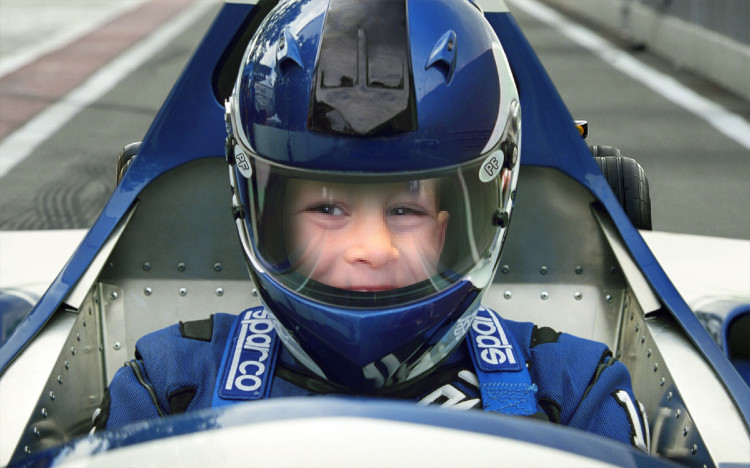 Racecar driver Camden!