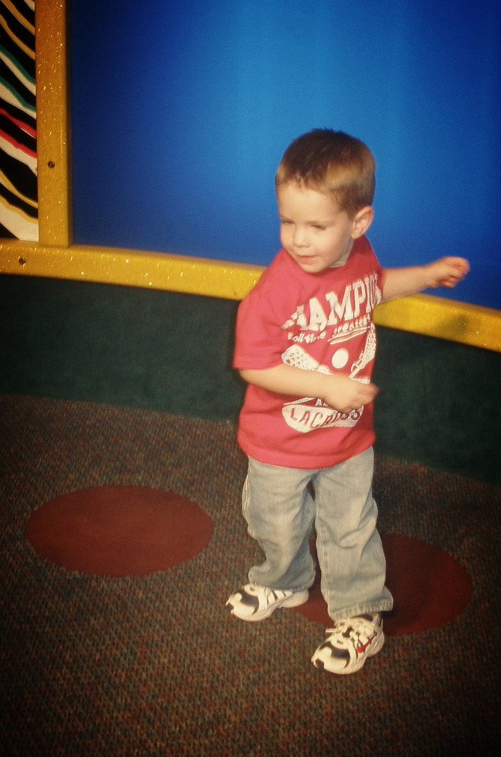 Dancing Brayden at 2 (almost 3), March 2011