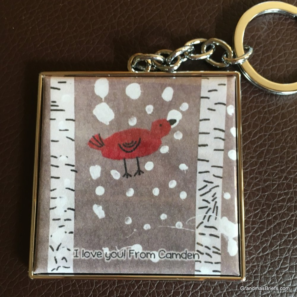 A new piece by Camden—that makes a key chain to cherish!