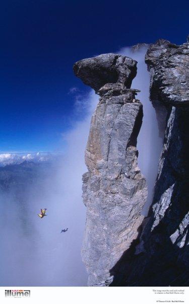 © Thomas Ulrich Athlete: Mike Robinson, Dave Major Location: Pilz, Eiger, Switzerland