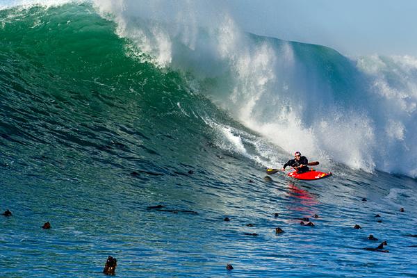 Photographer: ©Richard Hallman Kayaker: Tao Berman Location: Nelscott Reef, Oregon