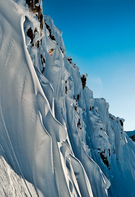 Rider: John Jackson // Tordrillo Mountains, AK USA // © Scott Serfas