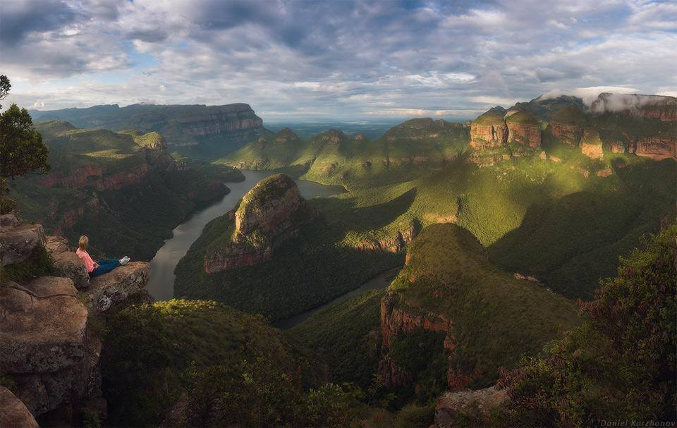 Blyde river canyon in South Africa // Photo by Daniel Kordan