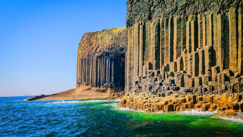Image result for fingal's cave scotland