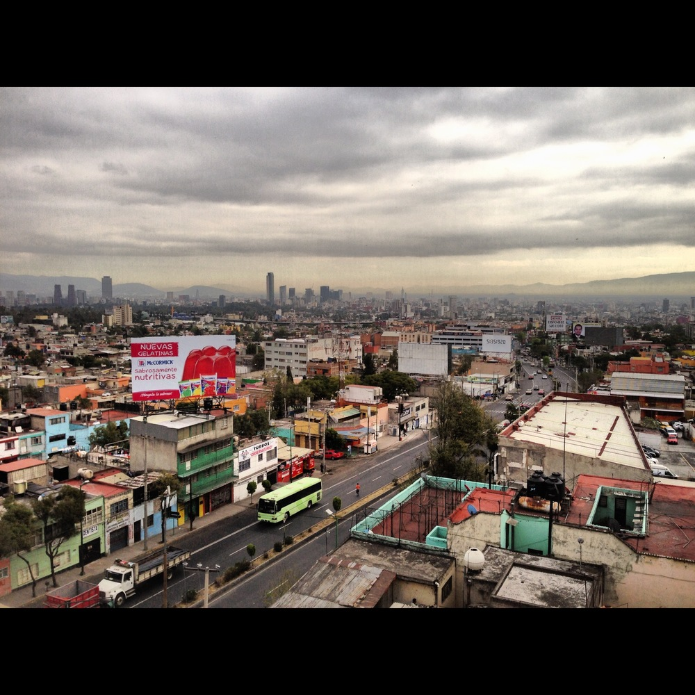 Mexico City - shot from ABC Hospital