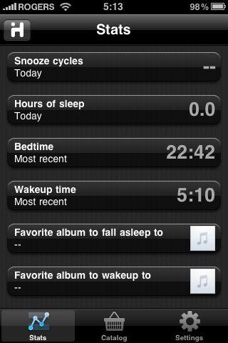 iHome iA5 sleep habits