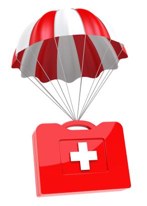 Parachute trial