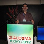 Dr Robert Schertzer, Glaucoma Today 2012, Tel Aviv