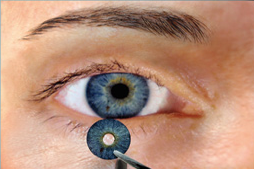 Human optics matching color
