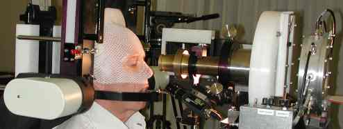 Proton beam eye therapy