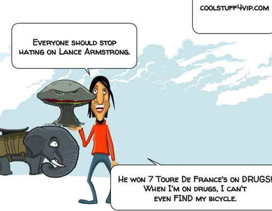 funny-jokes-celebrities-cycling-sport-lance-armstrong-on-drugs-bycicle-comixer-coolstuff4vip-com.jpg