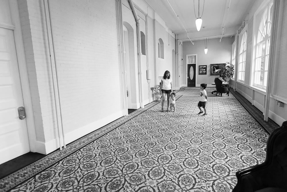Grand hallways (image courtesy of The Dad)