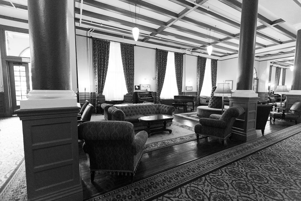 Lobby of the Hotel Colorado