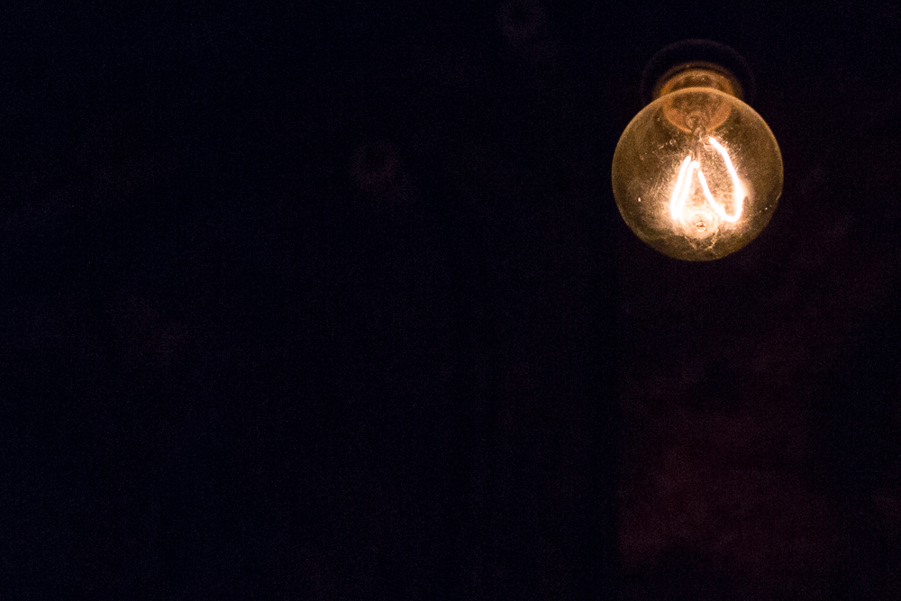 Replica Edison Bulb - Historic Lighting in Glenwood Caverns