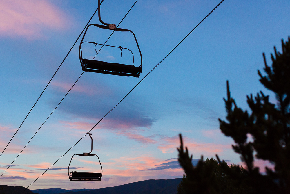 Snowmass sunset.