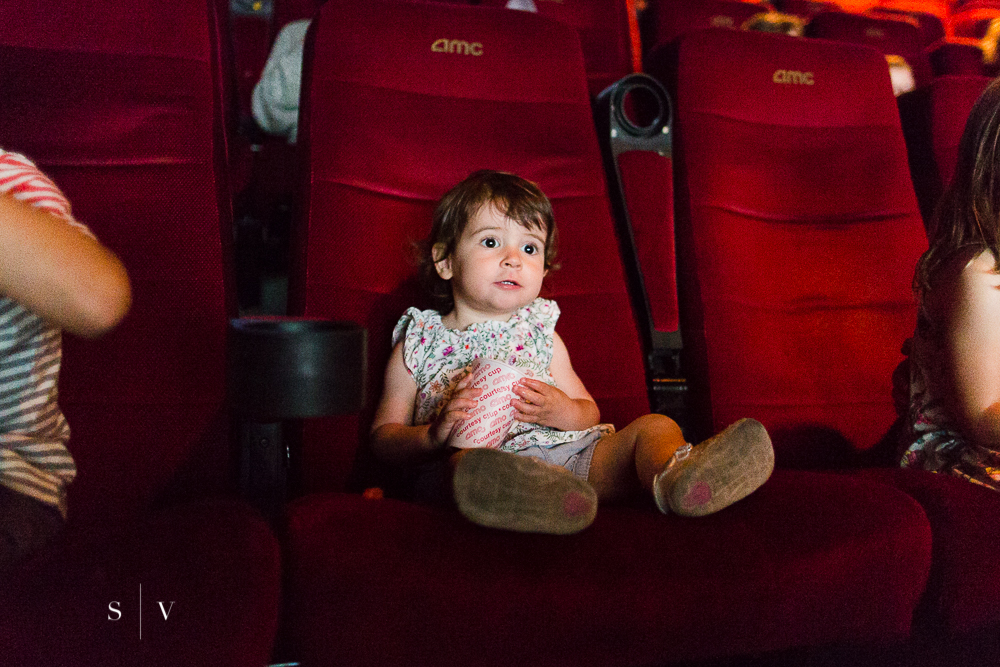 Baby's first movie.