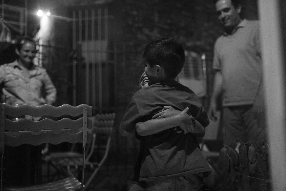 Day 28: Hugs goodnight