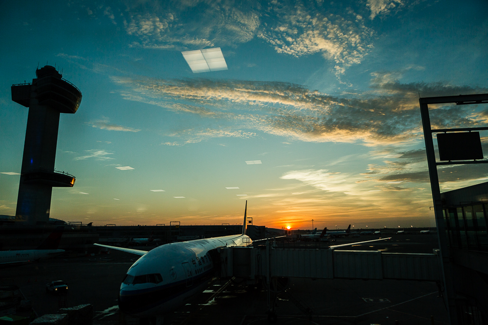 Day 22 - Sunrise at JFK