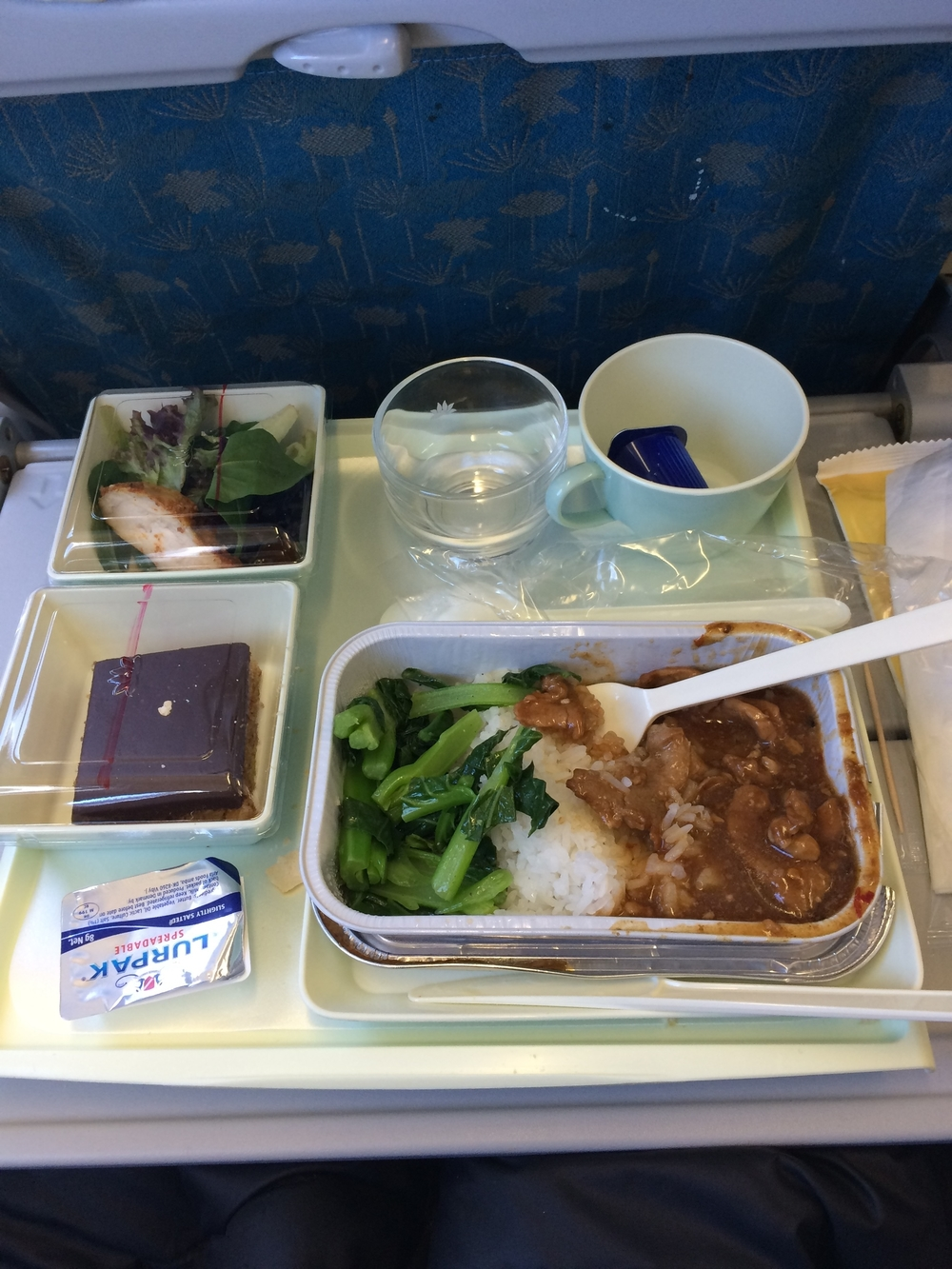 Lunch on Vietnam Airlines!