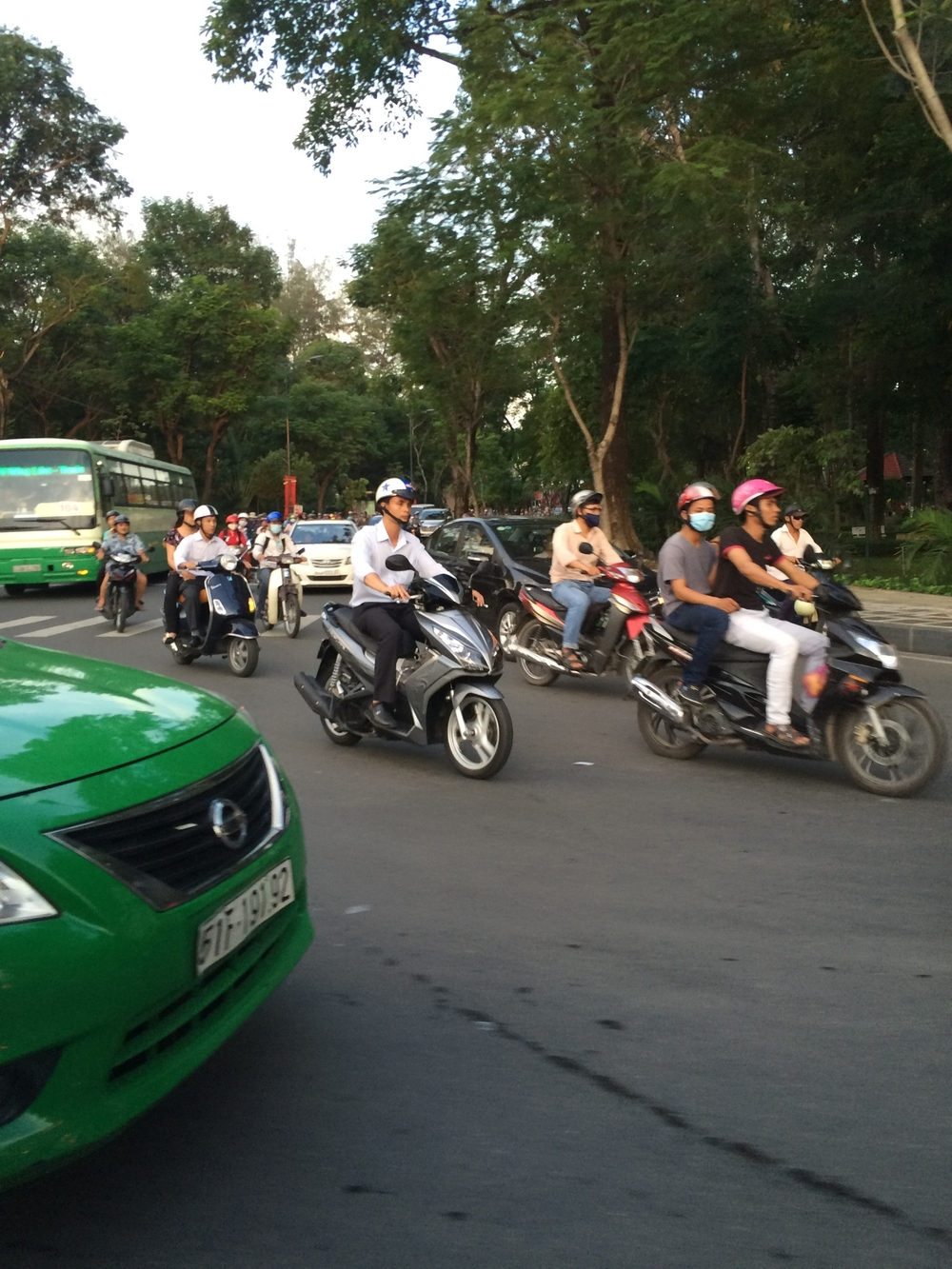 Some of the scooters.