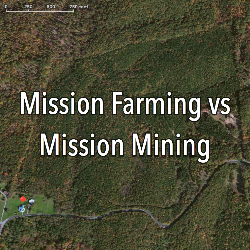Are you a Mission Farmer, or Miner? Choose wisely.