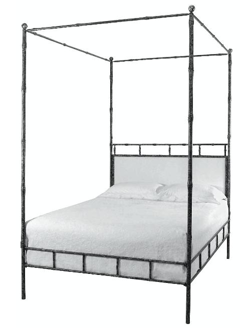 Bamboo Bed Via Ironies