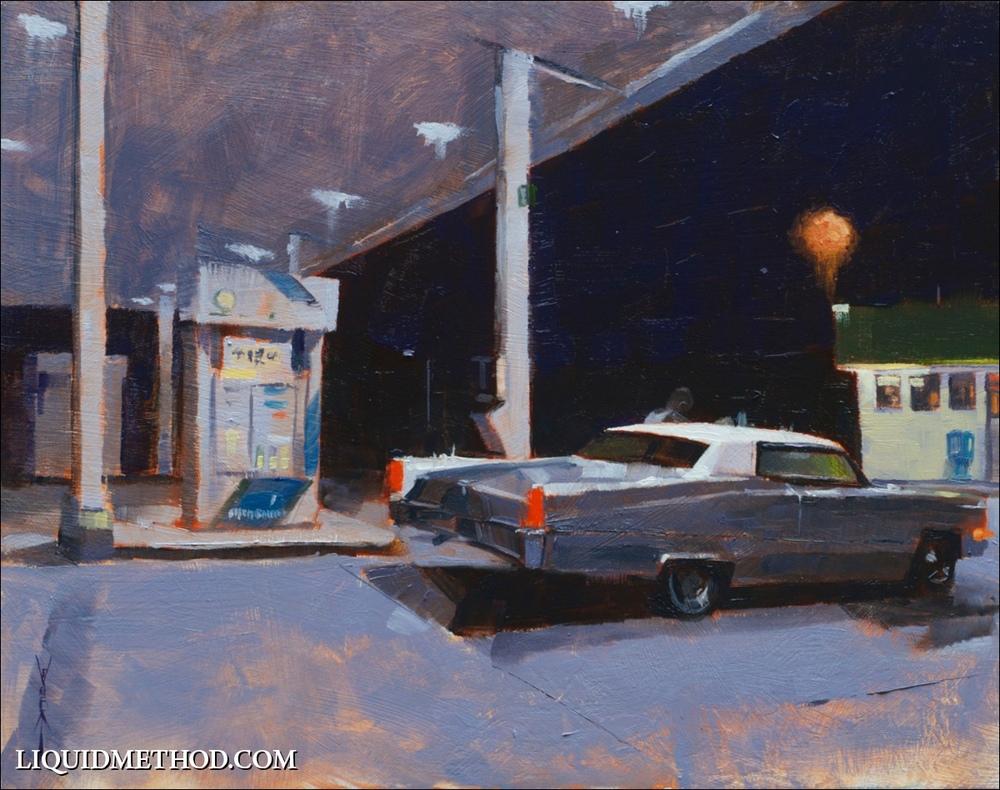 Moonlit Cadillac.jpg
