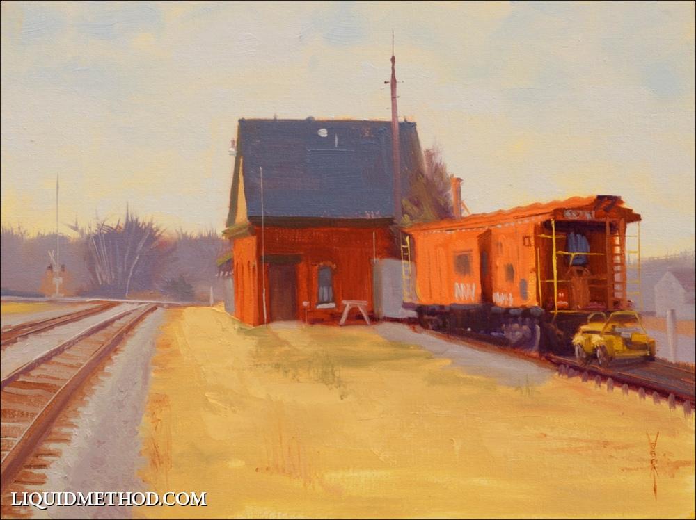 Suffolk Station & Caboose
