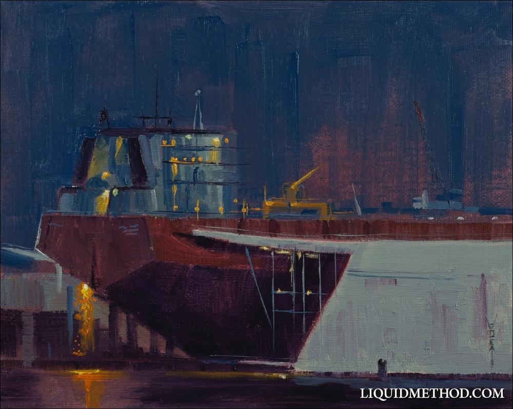 Night Ship Welder
