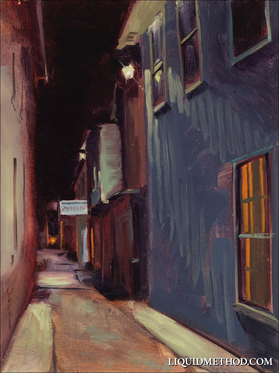 Harrison St. Alley