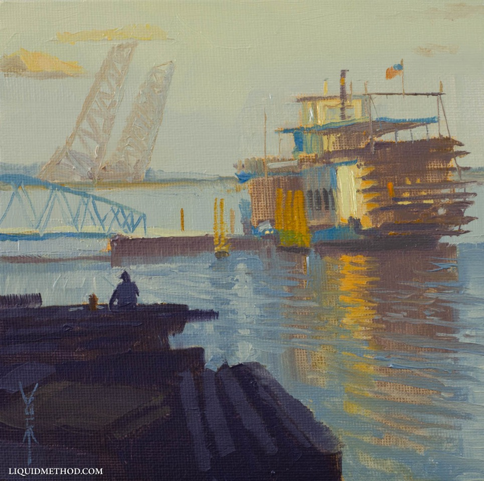 """Fishing Off The Docks"""
