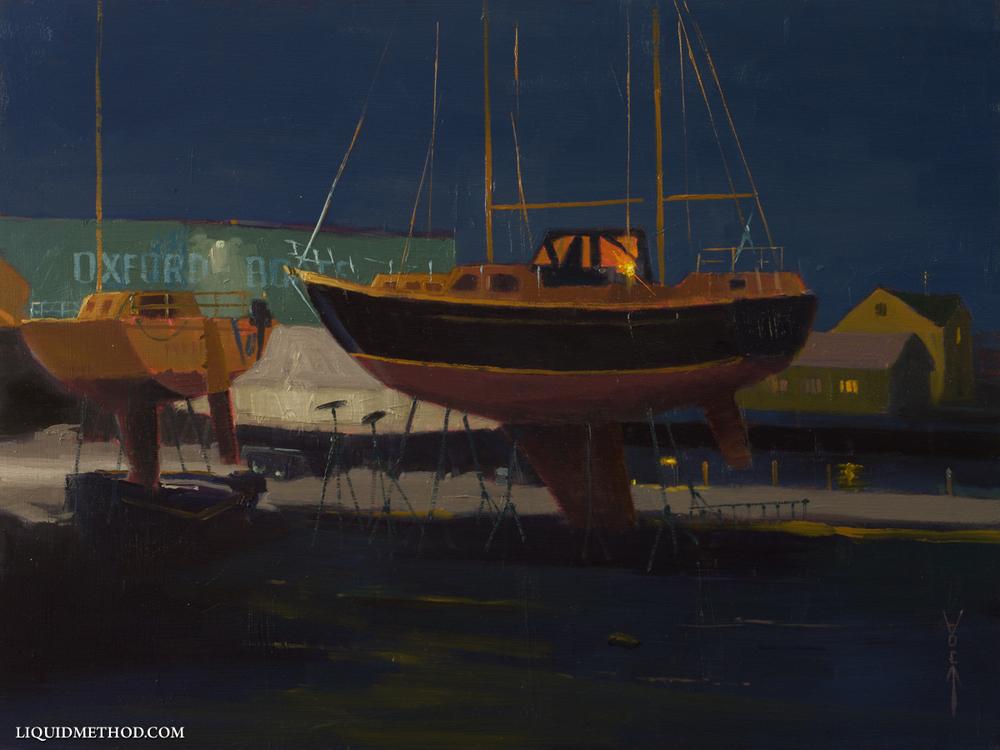 Oxford Boat Yard Nocturne.jpg
