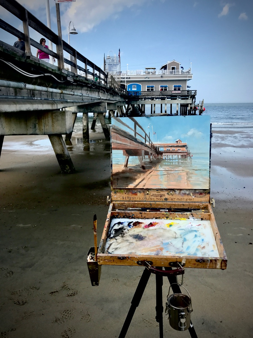 Having the right gear and equipment can make or break a day at the beach painting.