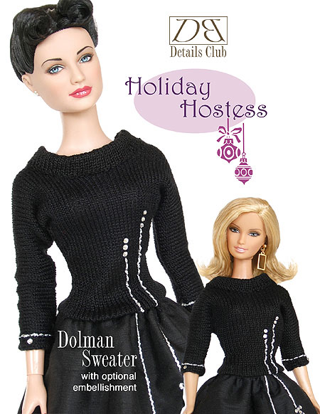 Holiday Hostess Dolman Sweater
