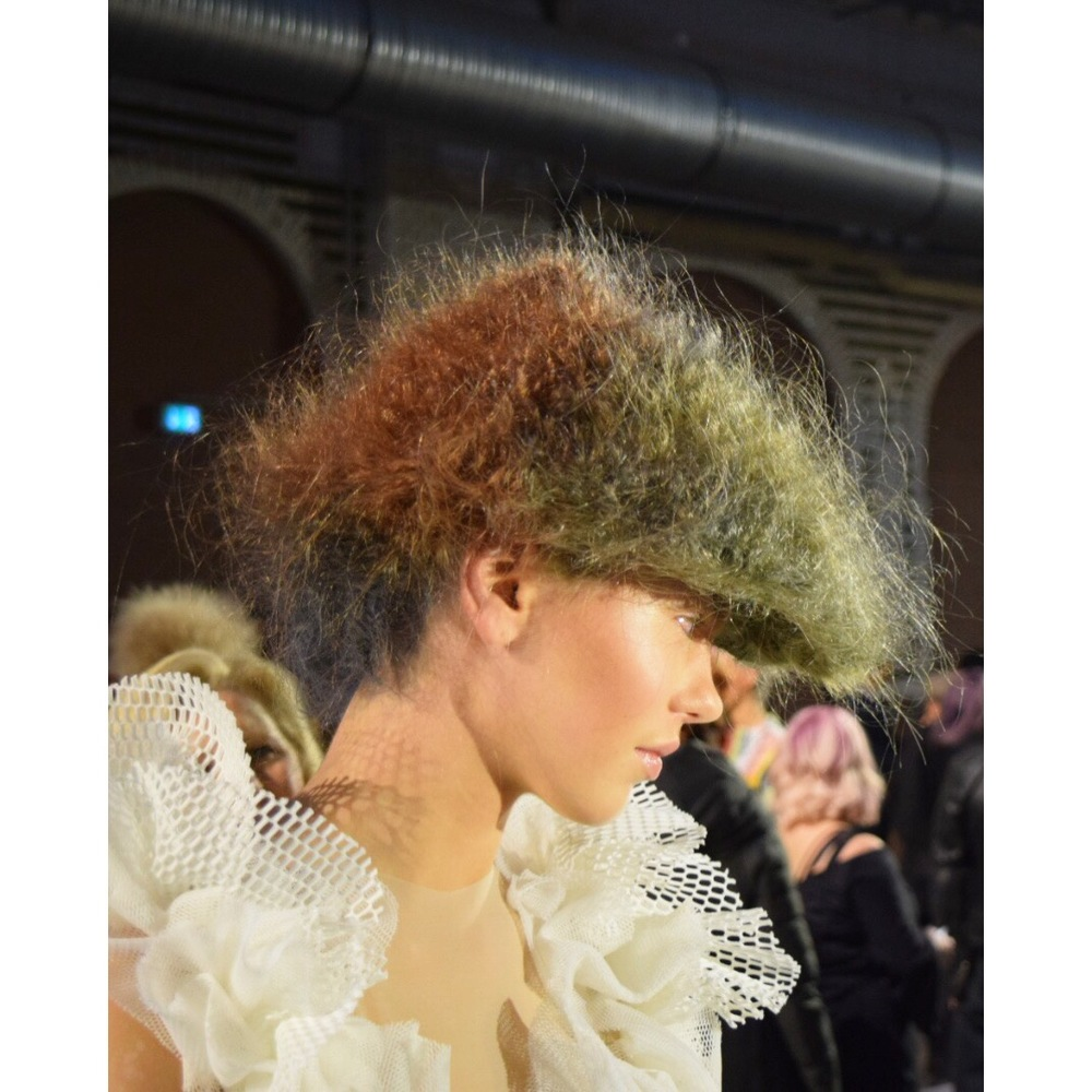 Congratulations to the @wellahair PLATINUM artists to YOUNG TALENT Anastasia Krupovich from Lithuania. A well deserved WIN!!! ⠀⠀⠀⠀⠀⠀⠀⠀⠀  To the winners of Bronze, Silver & Gold artists a huge congratulations on your achievement!!! #WellaLife #TrendVision @wellahairusa