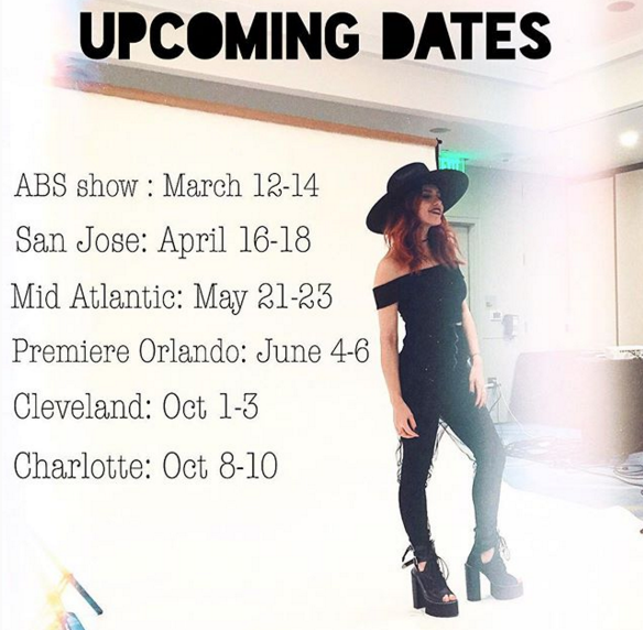 The fun never ends...Here are some of my upcoming hair shows.