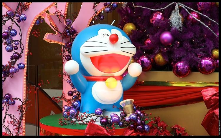 Doraemon celebrating his 100 birthday at Fahrenheit 88