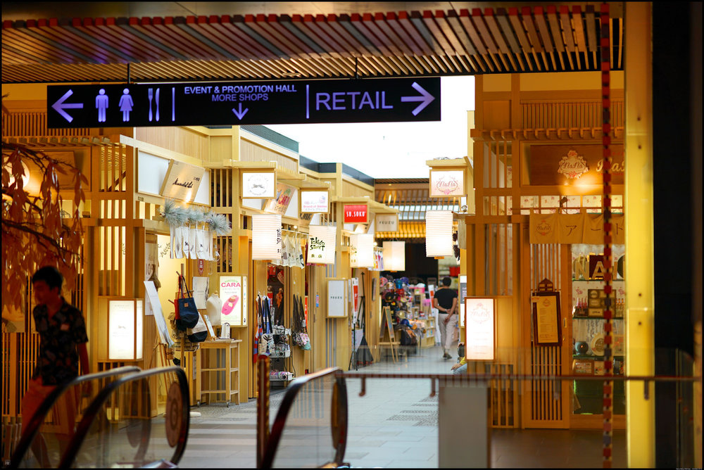 The famous Tokyo Street inside Pavilion KL