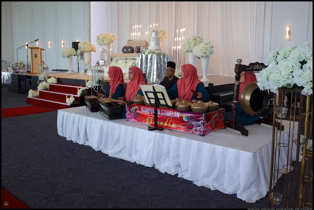 The Gamelan was also ready