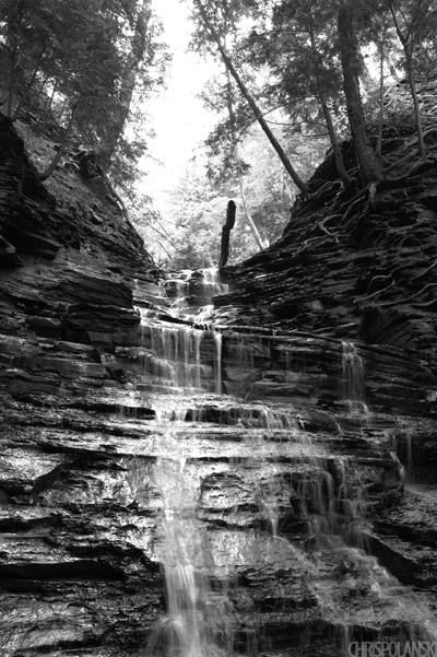 Eternal Flame Falls; Chestnut Ridge Park