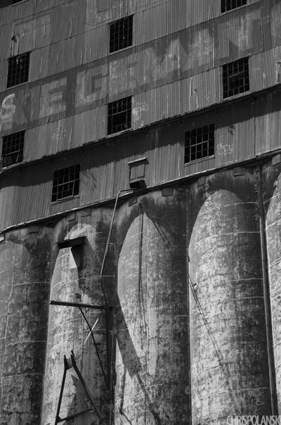 Concrete Central Grain Elevator; Buffalo, NY