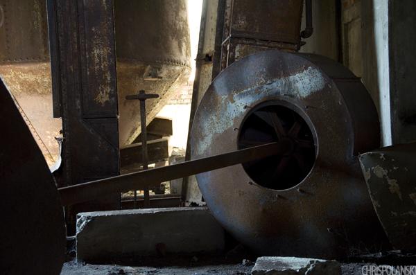 Metal Remnants; Concrete Central Grain Elevator; Buffalo, NY