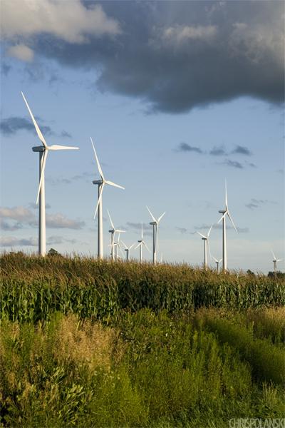 Windmills; Eagle, NY