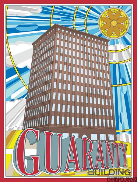 Dankmar Adler & Louis Sullivan's Guaranty (Prudential) Building